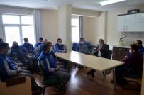 Başkan Özkan Altun KCETAŞ Bünyan İşletme Şefliği'ni Ziyaret Etti