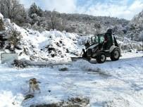 Devrek Belediyesi Karla Mücadele Çalışmalarına Devam Ediyor