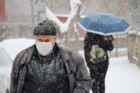 Elazığ Kar Yağışı İle Beyaza Büründü, Eğitime Ara, Engelli Ve Hamilelere İzin Verildi