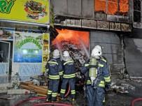 Gaziantep' Gıda Toptancıları Sitesi'nde Büyük Yangın