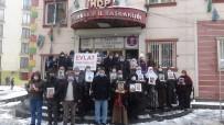 HDP Önündeki Aileler Evlat Nöbetini Kar Yağışı Altında Sürdürdü