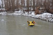 Kar Altında Yılın İlk Raftingi Kato Dağı Eteklerinde Yapıldı