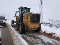 Kilis'te Yılın İlk Kar Yağışı