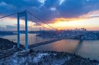 Kış Güneşiyle Kartpostallık Gün Batımı