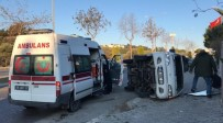 Kuşadası'nda Trafik Kazası Açıklaması 2 Yaralı