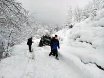 Sakaryalı Off-Roadcıların Kar Keyfi