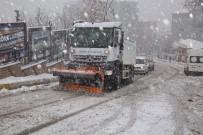 Şırnak'ta Kar Esareti Açıklaması Hakkari Ve Siirt'e Ulaşımlar Kesildi, 23 Köy Yolu Ulaşıma Kapandı