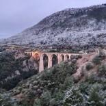 Tarihi Varda Köprüsü 9 Yıl Sonra Yeniden Beyazlar İçinde