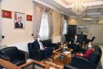 Yatağan Termik Enerji Genel Müdürü Korhan Tiryaki, Vali Tavlı'yı Ziyaret Etti