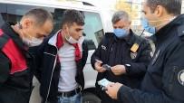 Kısıtlamayı İhlal Edip Sahte Para Ve Eroinle Yakalandı 'Bakkaldan Aldım' Dedi