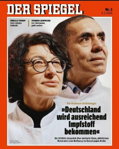Prof. Dr. Uğur Şahin ve Özlem Türeci Der Spiegel'in kapağında!