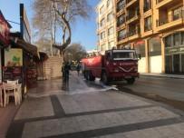 Sinop'ta Sokaklar Köpüklü Suyla Yıkandı