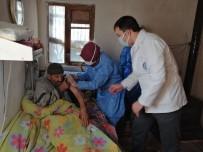 90 Yaşındaki Vatandaşlara Aşılama Başladı