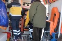 Bolu'da Yanan Evden Kurtarılan Kediye Ambulansta Kalp Masajı