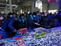 Bozüyük'te Balık Satıcılarına Yönelik Denetim Yapıldı