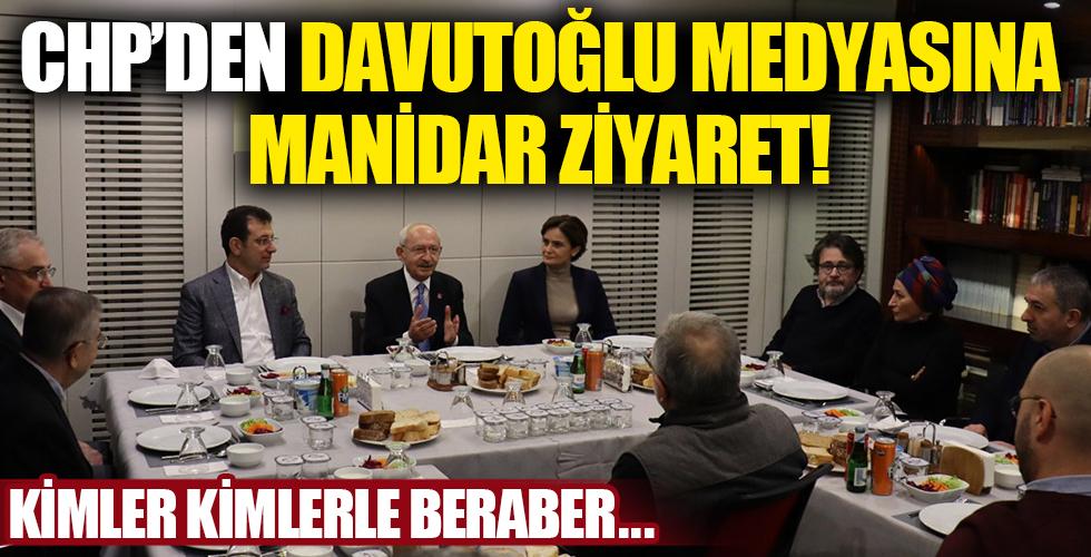 CHP Davutoğlu medyasına çıkarma yaptı!