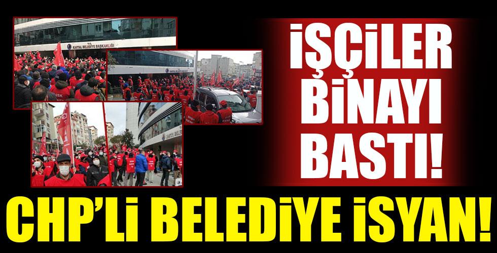 CHP'li Kartal Belediyesi'nde isyan!