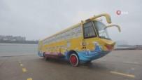 Çin'de Karada Ve Suda Gidebilen Amfibik Otobüs İlgi Çekiyor