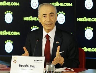 Galatasaray Başkanı Mustafa Cengiz'den dikkat çeken Mesut Özil açıklaması!