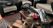 İzmir'de İlginç Olay Açıklaması Çalıntı Aracın Parçalarını Salonda Saklamış