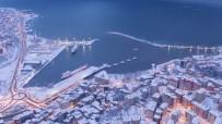 Kar Manzaralı Zonguldak Havadan Görüntülendi