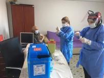 Kırşehir'de, Aşı Uygulamaları Sürdürülüyor
