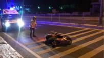 Kuşadası'nda Motosiklet Kazası Açıklaması 1 Ağır Yaralı