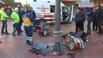 Motosikletler Kafa Kafaya Çarpıştı Açıklaması 1 Yaralı