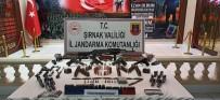 Şırnak'ta Mühimmat Ele Geçirildi