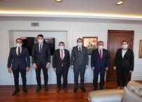 AK Parti Bilecik İl Başkanı Yıldırım'dan Bakan Dönmez'e Ziyaret