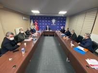 Başkan Çopuroğlu'ndan İlçe Başkanları Ve Belediye Başkanları İle İstişare Toplantısı