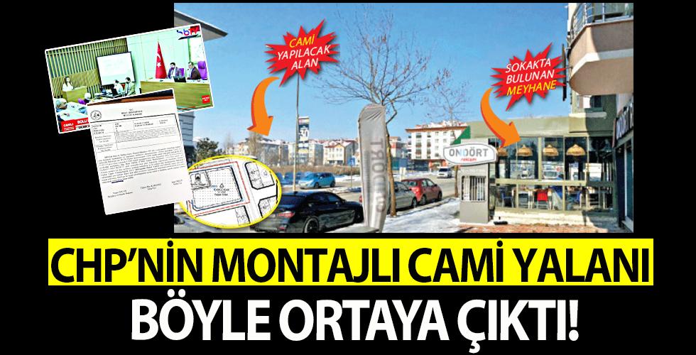 CHP'den montajlı cami yalanı! AK Parti'nin Bolu'daki camiye değil, karşısındaki meyhaneye 'hayır' dediği ortaya çıktı