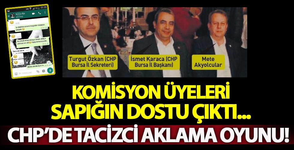 CHP'den tacizciyi aklama komisyonu!