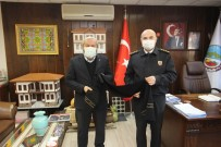 İl Jandarma Komutanı Sandal'dan Başkan Şahin'e Ziyaret