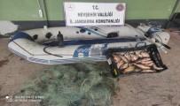 Kızılırmak'ta Kaçak Balık Avlayan 2 Kişi Yakalandı