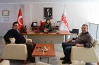 KUTO Başkanı Akdoğan, TÜRSAB Aydın Temsilcisi Yurtcan İle Görüştü