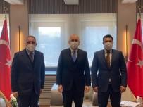 OSB Başkanı Şimşek Bakan Karaismailoğlu İle Görüştü