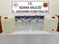 Su Bidonlarıyla Kaçak İçki Sevkiyatı Jandarmaya Takıldı