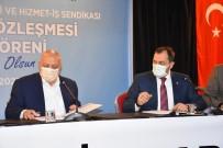 Süleymanpaşa Belediye İşçilerinin Sözleşme Sevinci