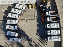 Sur Belediyesi Araç Filosunu Güçlendirdi, İlçe Pırıl Pırıl Oldu