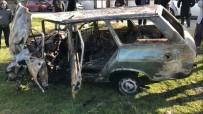 Tekirdağ'da Feci Kaza Açıklaması Sıkıştığı Otomobilde Yanarak Can Verdi