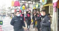 Yabancı Uyruklu İki Grup Kavga Etti