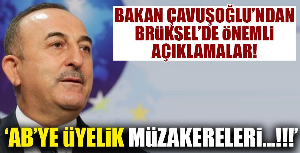 Bakan Çavuşoğlu'ndan kritik açıklamalar!