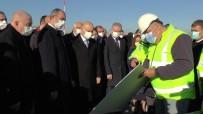 Bakan Karaismailoğlu Ve Bakan Gül Gaziantep Havalimanı İnşaatında İncelemelerde Bulundu