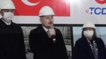 Bakanlar Karaismailoğlu Ve Gül, Gaziantep'te Karayolu Şantiyesinde İnceleme Yaptı