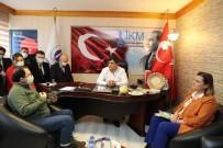 Başkan Hürriyet, İKM'ye İzmit Çarşısını Anlattı