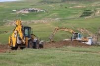 Cizre Belediyesi 50 Yıl Aradan Sonra 80 Dönümlük Mezarlık Yapıyor