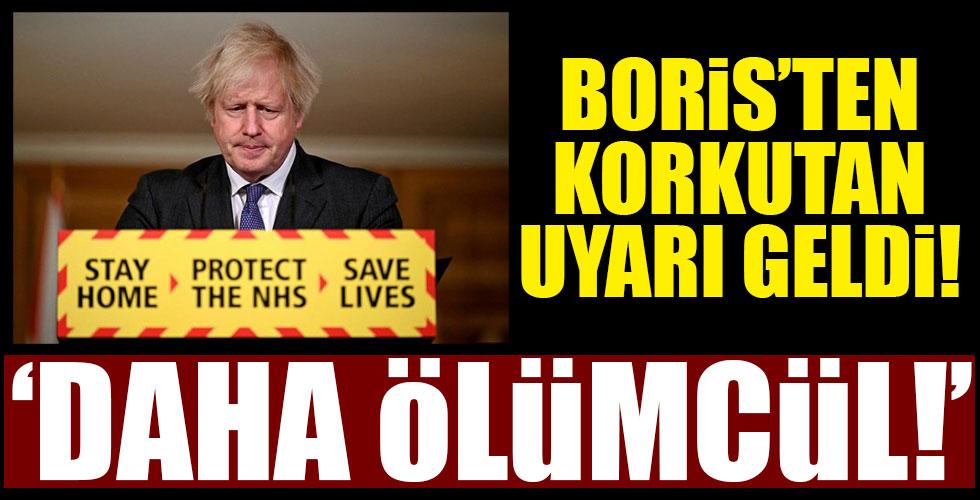 İngiltere Başbakanı Johnson'dan korkutan açıklama