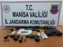 Jandarmadan Uyuşturucu Baskını Açıklaması 5 Gözaltı