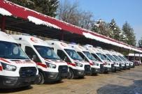 Kahramanmaraş'ta Ambulans Sayısı 90'A Ulaştı